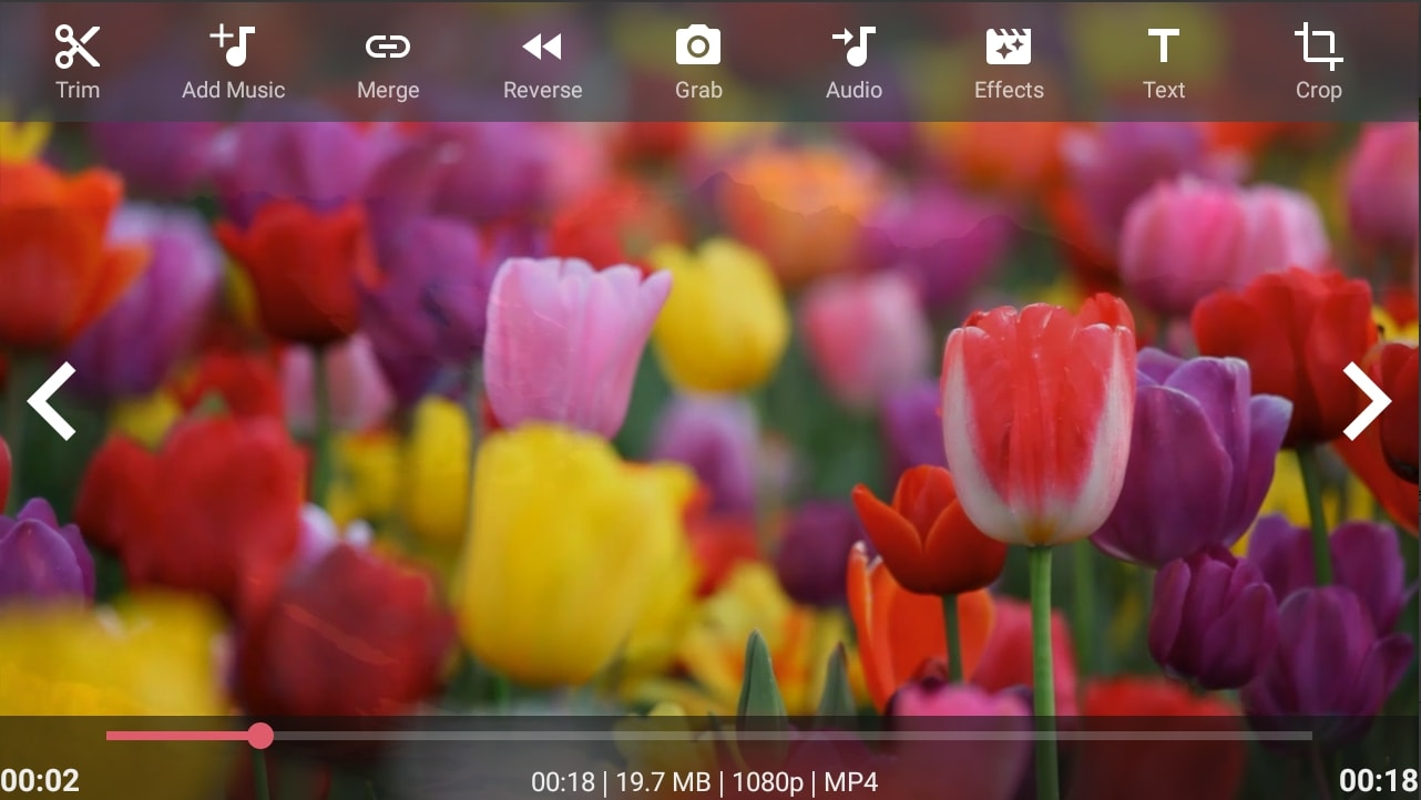 Top 5 free video editing apps for android eton digital video editing apps androvid video editor izmirmasajfo