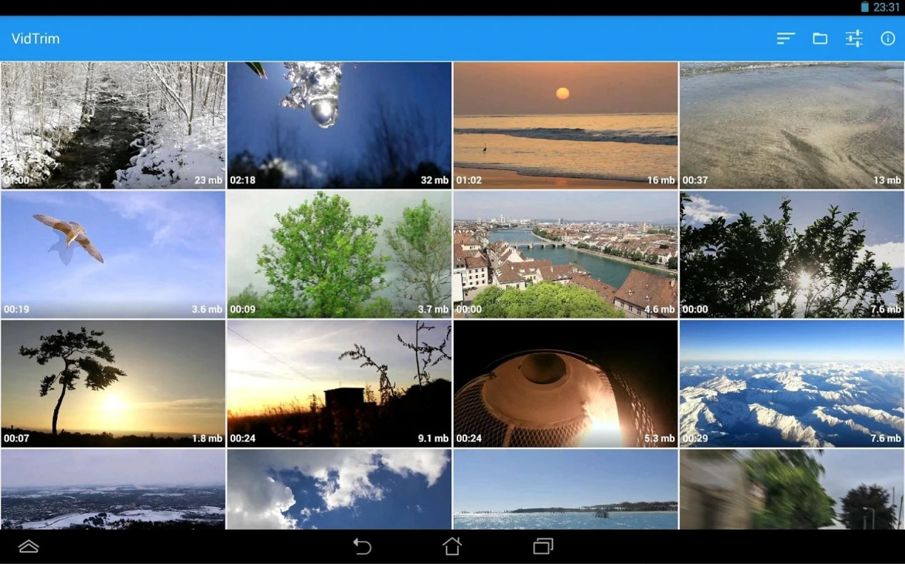 Video editing apps - VidTrim