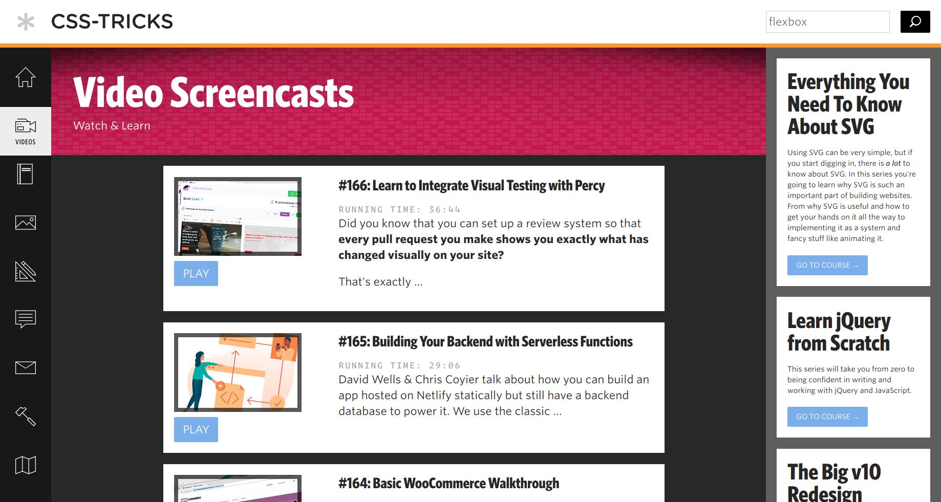 CSS Tricks screenshot