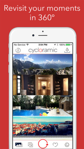 Cycloramic for iPhone 6 2