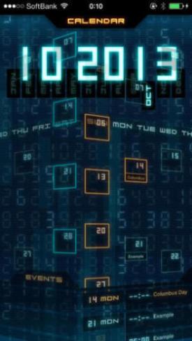 Flashback - Sci-Fi Style Calendar 1