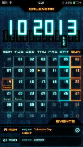 Flashback - Sci-Fi Style Calendar 2