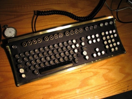recycled keyboard