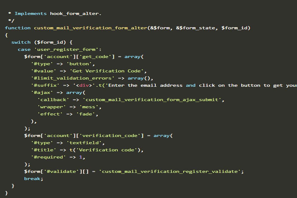 How to prevent fake registrations in Drupal? - Eton Digital