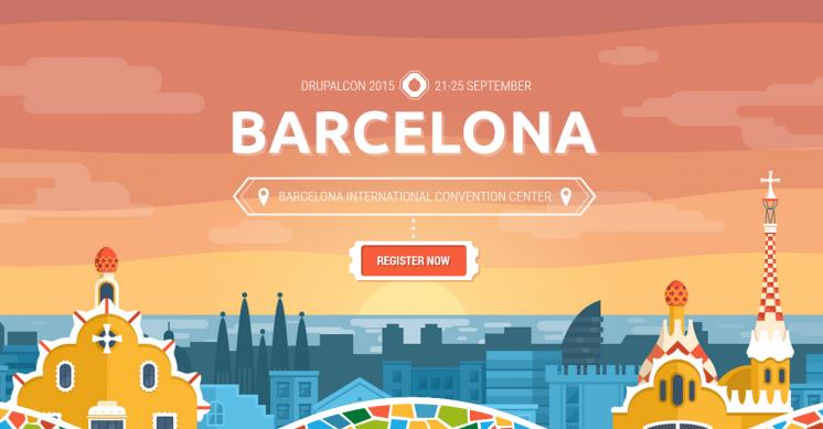 Barcelona 2015 DrupalCon1