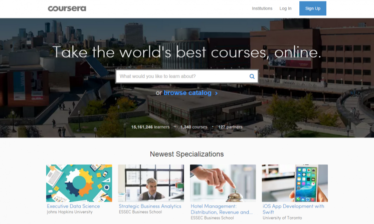 Free online options course
