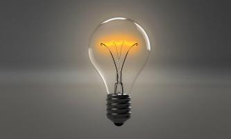 Lightbub representing innovation fair and creativity