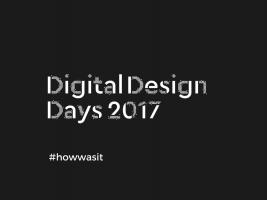 Digital Design Days Milano 2017