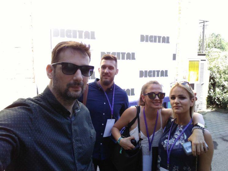 Eton Digital designers at DDD Milano conference
