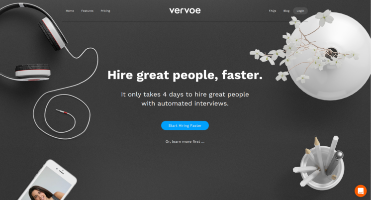 Vervoe - inbound hiring and recruiting software