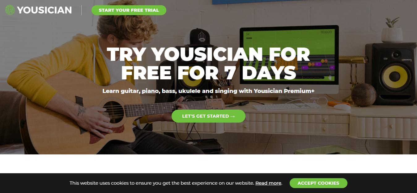 知识网站 Yousician