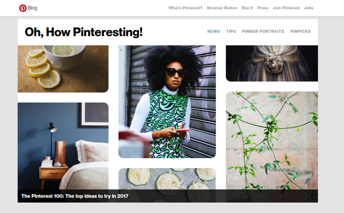 Browse Pinterest to get inspiration and ideas