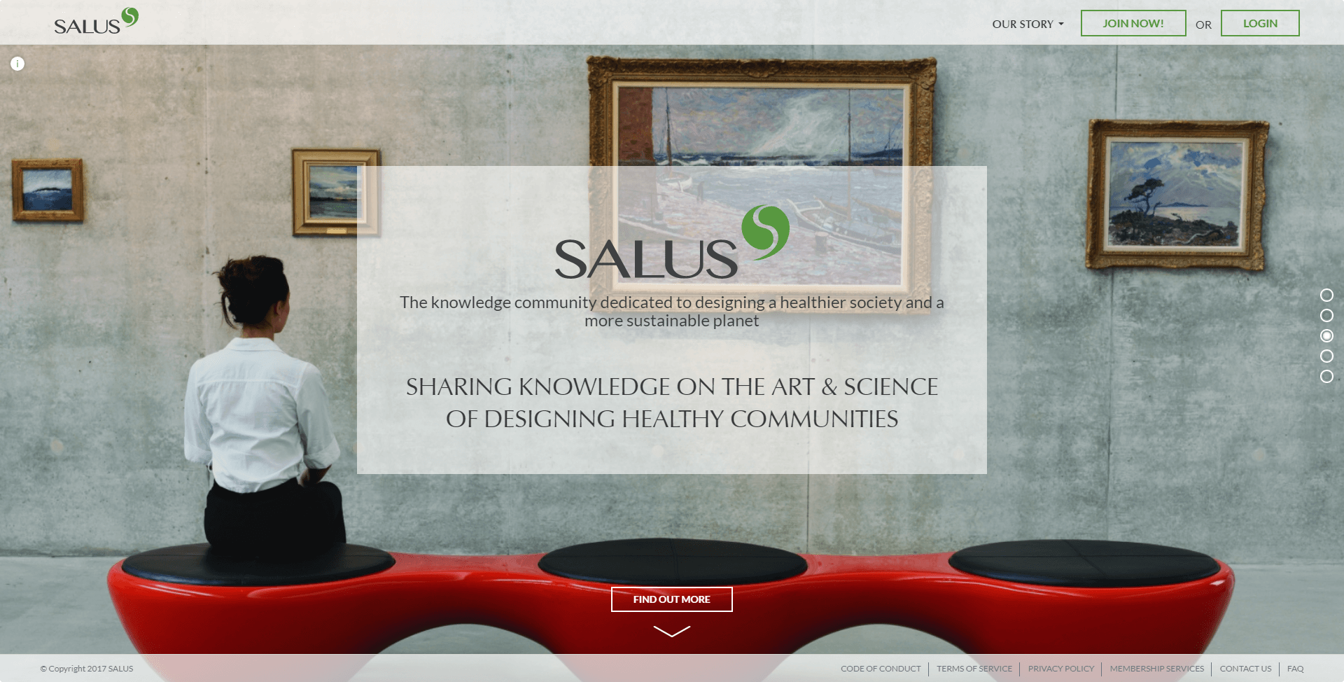 SALUS social network