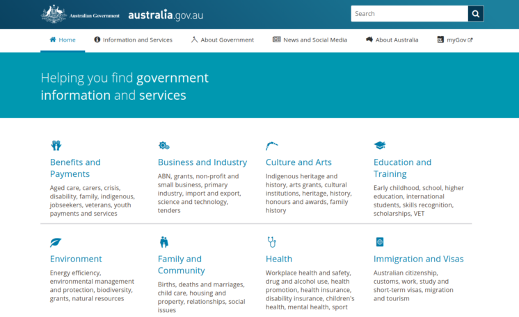 best drupal governments websites