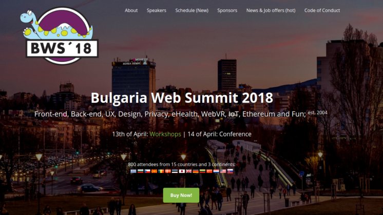 design conference in Bulgaria