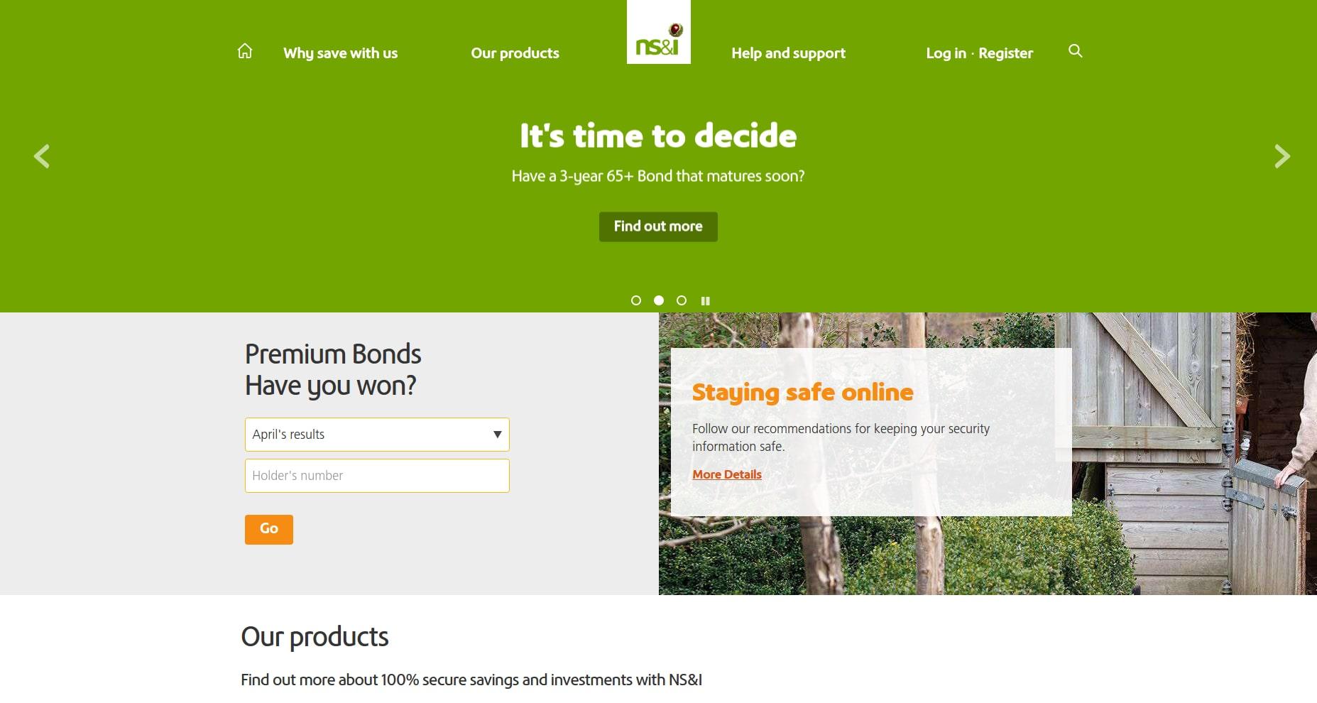 NS&I Drupal website