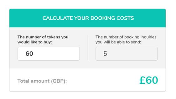 MyWorkMode - Booking Costs