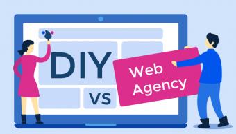 DIY vs web agency