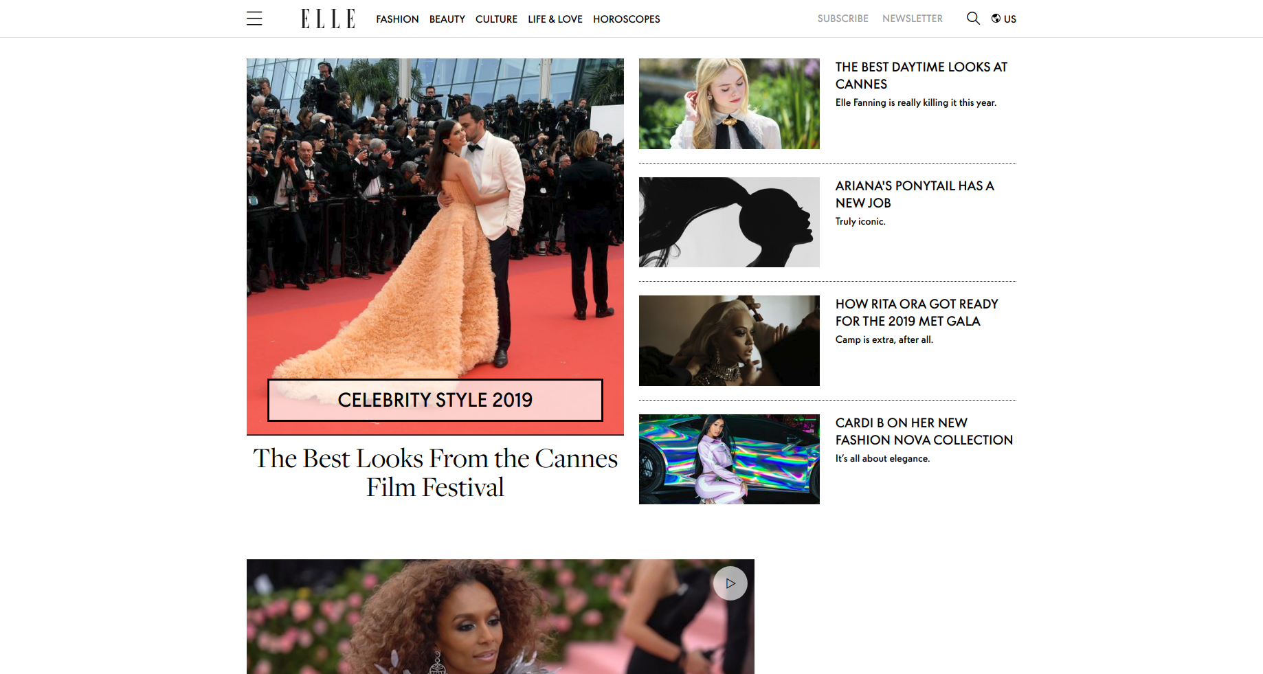 ELLE website built on eZ platform