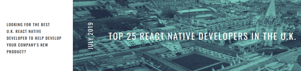Eton Digital named top react native developers in the UK