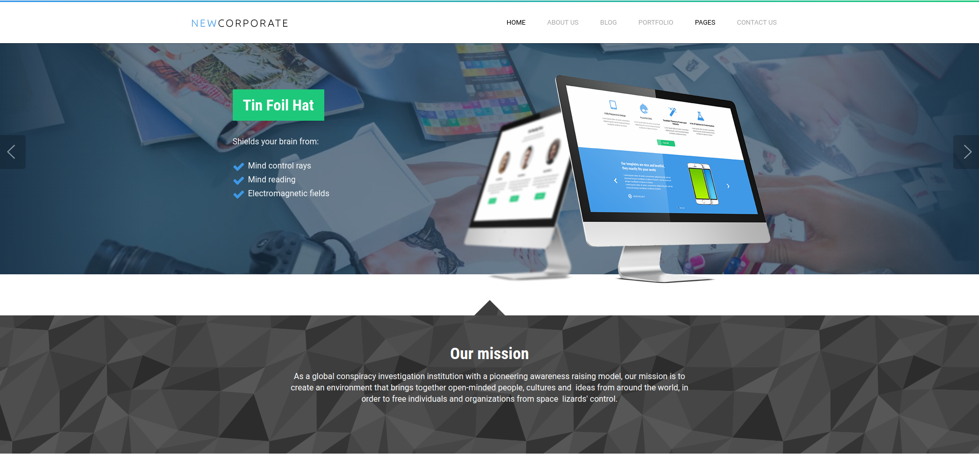 drupal free corporate theme