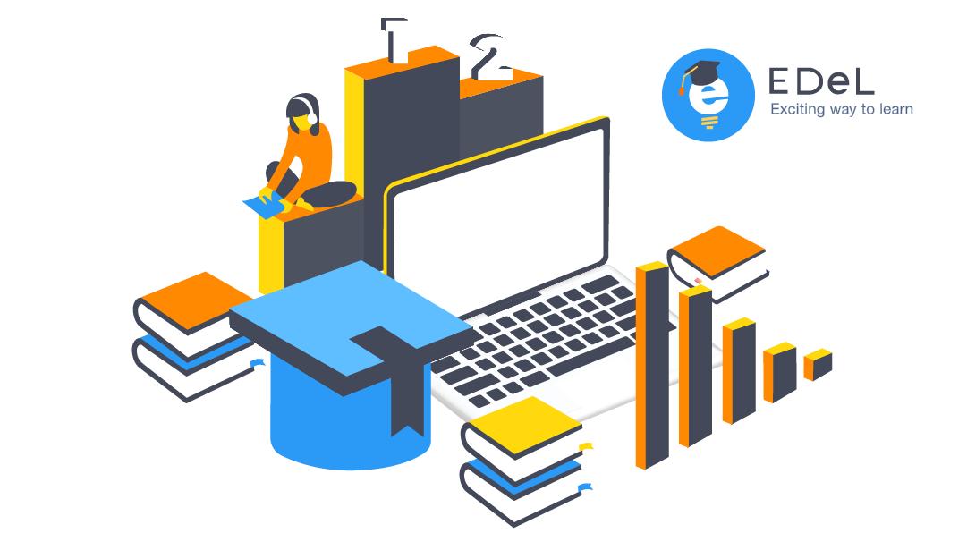 Promo image for Eton Digital microlearning platform EDeL