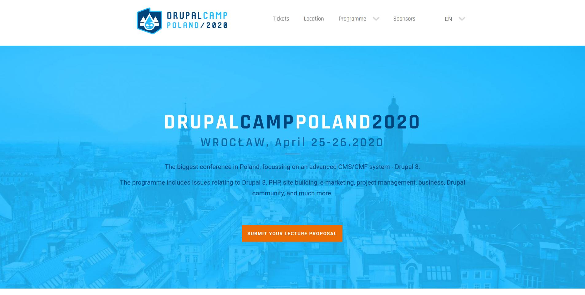 drupal conference 2020