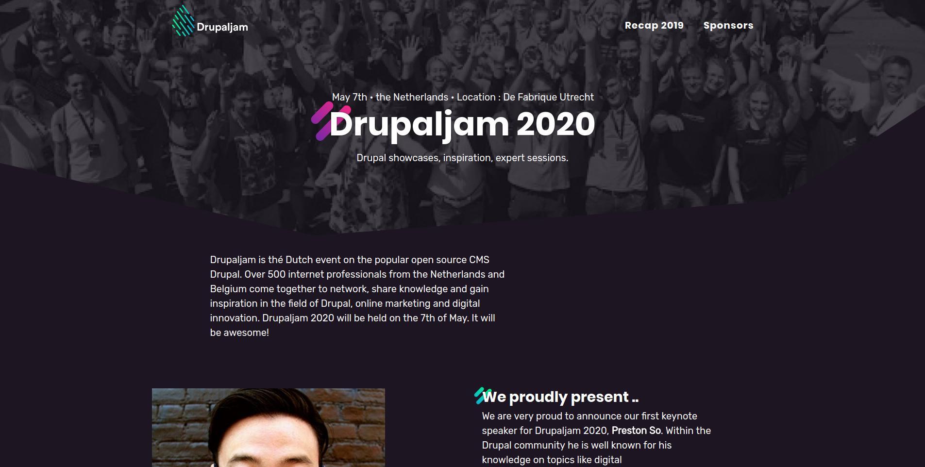 drupal confrence 2020
