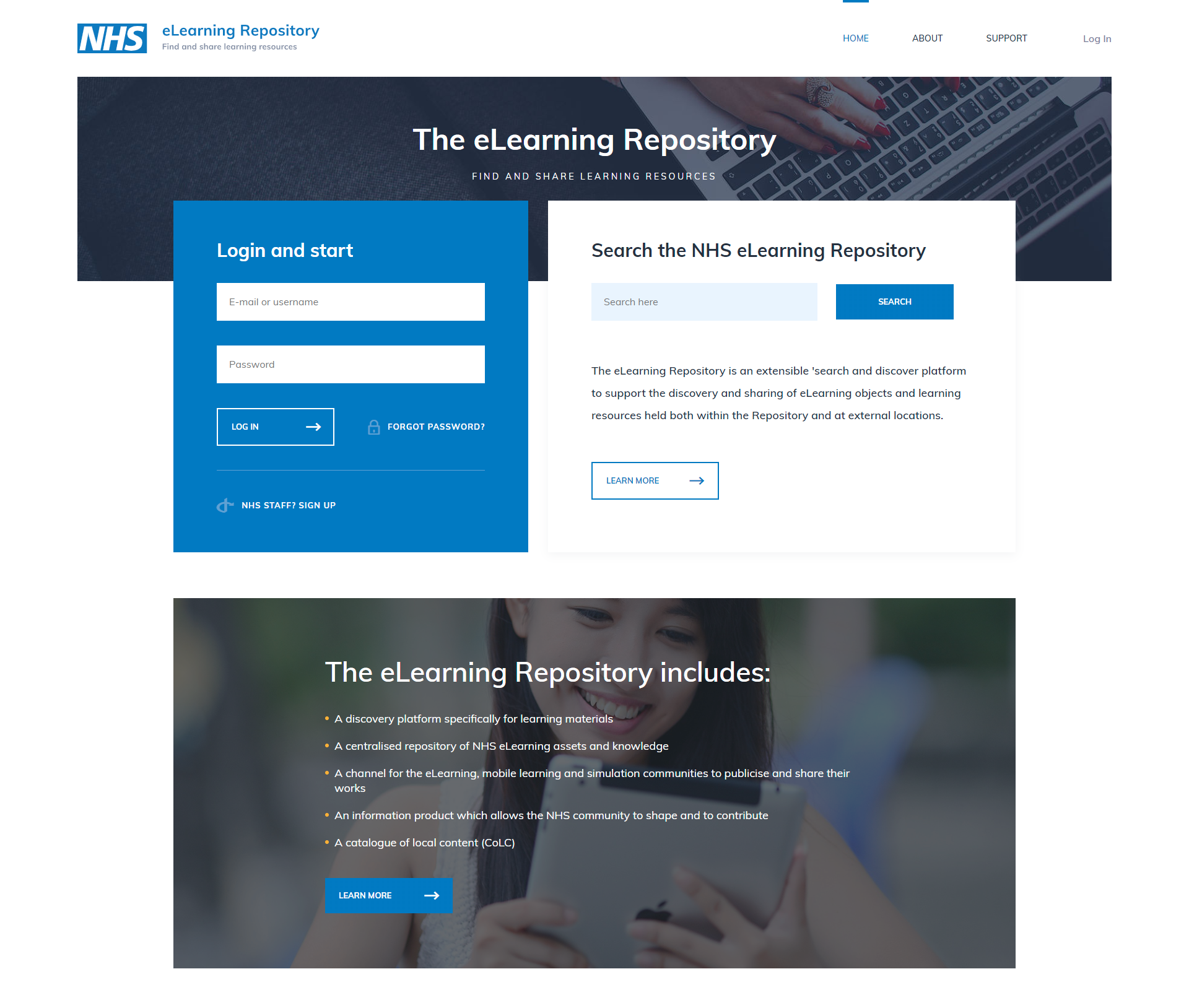nhs new eLearning projects