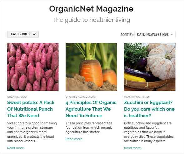 organicnet magazine