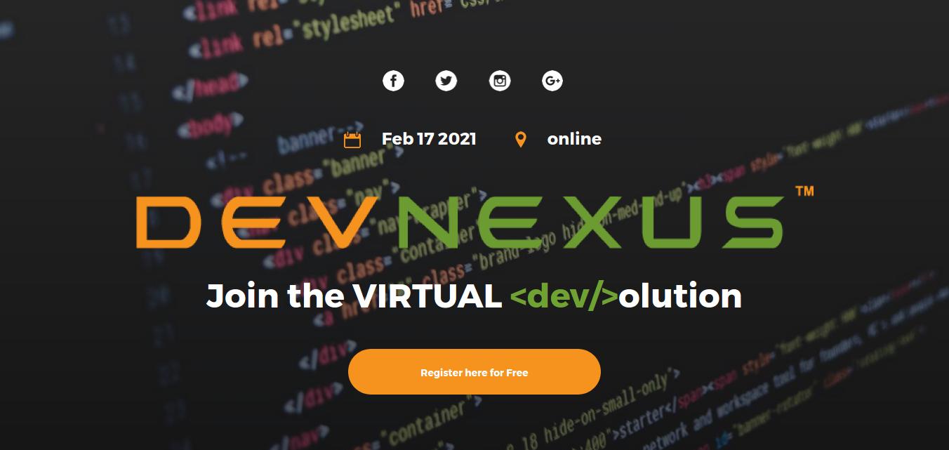 DevNexus online conference 2021