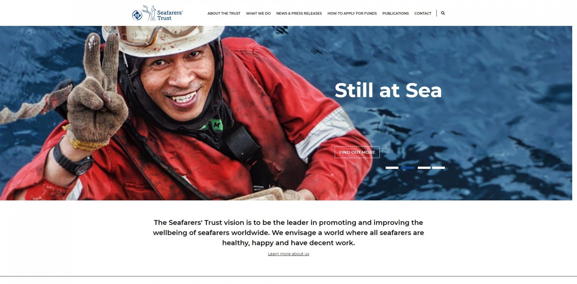 ITF website built in Drupal