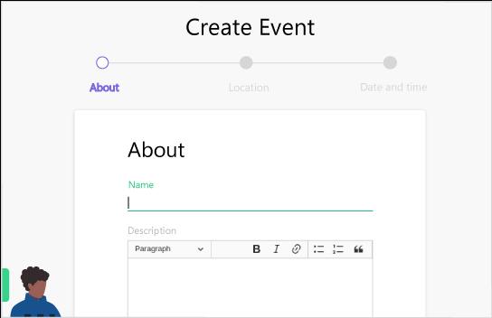 event creation