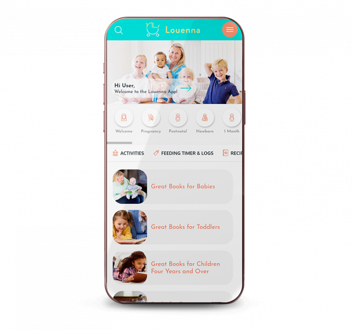 final product louenna parenting app