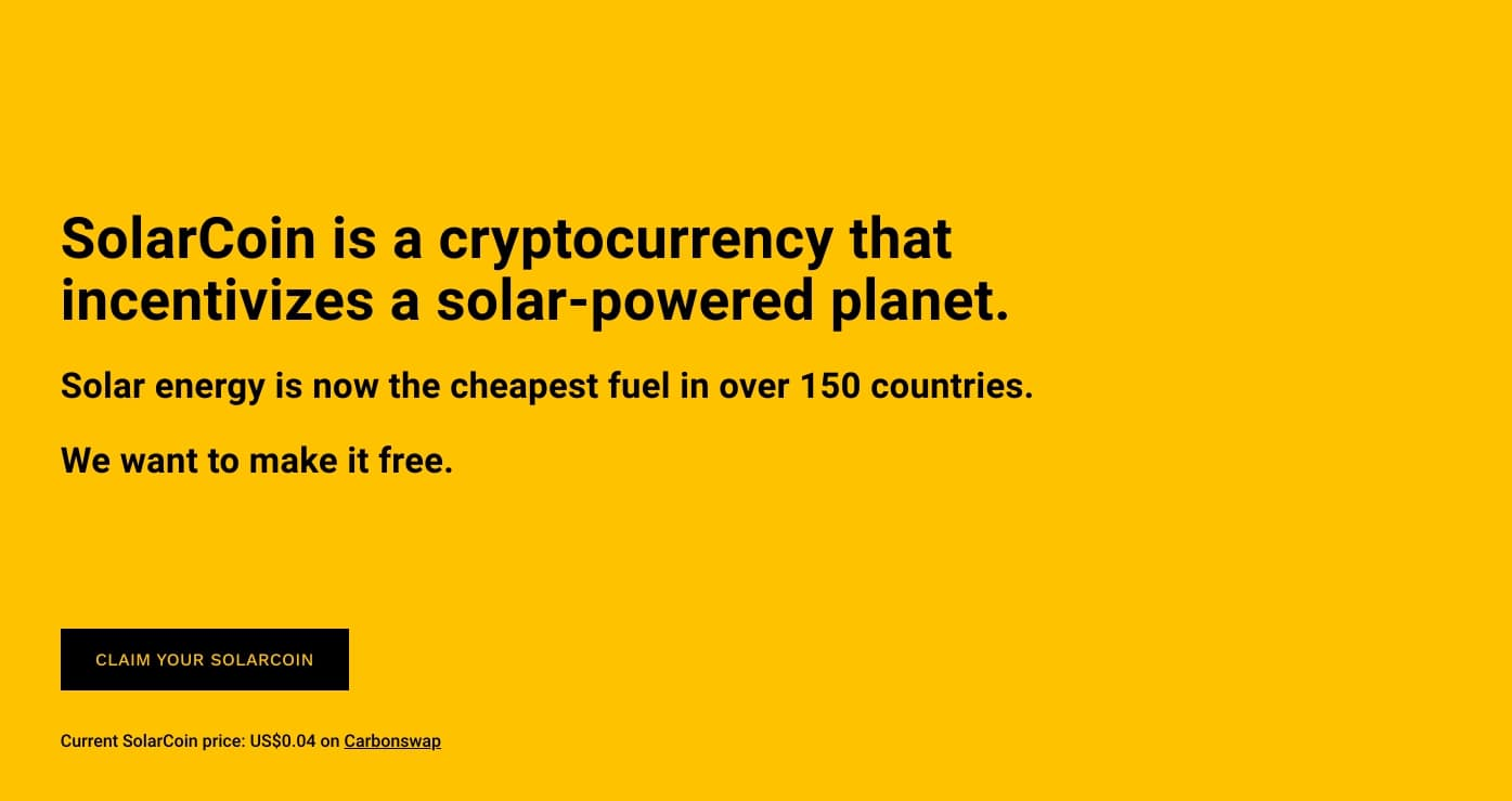 SolarCoin foundation supports solar producers with bitcoin